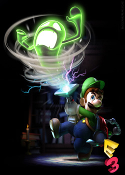 gamefreaksnz:  Luigi's Mansion: Dark Moon E3 screens, trailer  This year's E3 has seen some pretty big announcements for 3DS fans, and one of the more promising games on show was Luigi's Manson: Dark Moon.