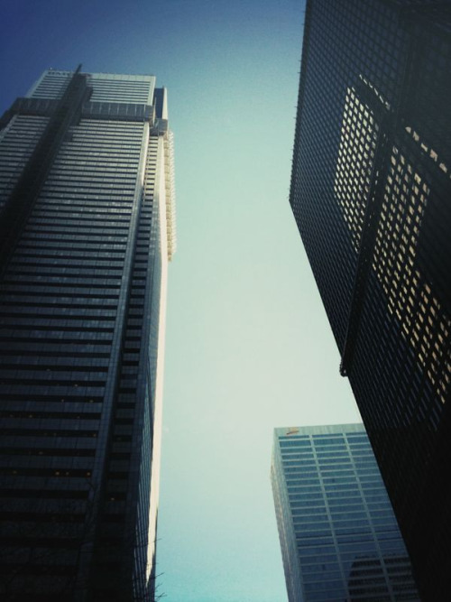 urbanehood:  towers (by greyvdm)
