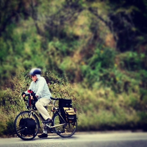 This guy… Killin' it on 360 this afternoon. Mad #Respect!!! ~ #Cycling #Touring #BikeATX #bikes (Taken with Instagram)