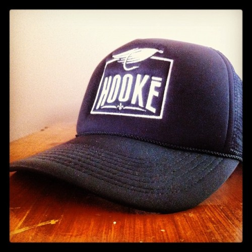 New hats!!! #hooké #flyfishing  (Pris avec Instagram)