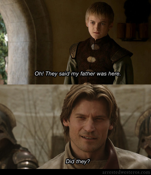 arrestedwesteros:  Buster: Oh! They said my father was here. Oscar: Did they? The One Where Michael Leaves - 2x01 submission from Shane Mc Happy Father's Day!
