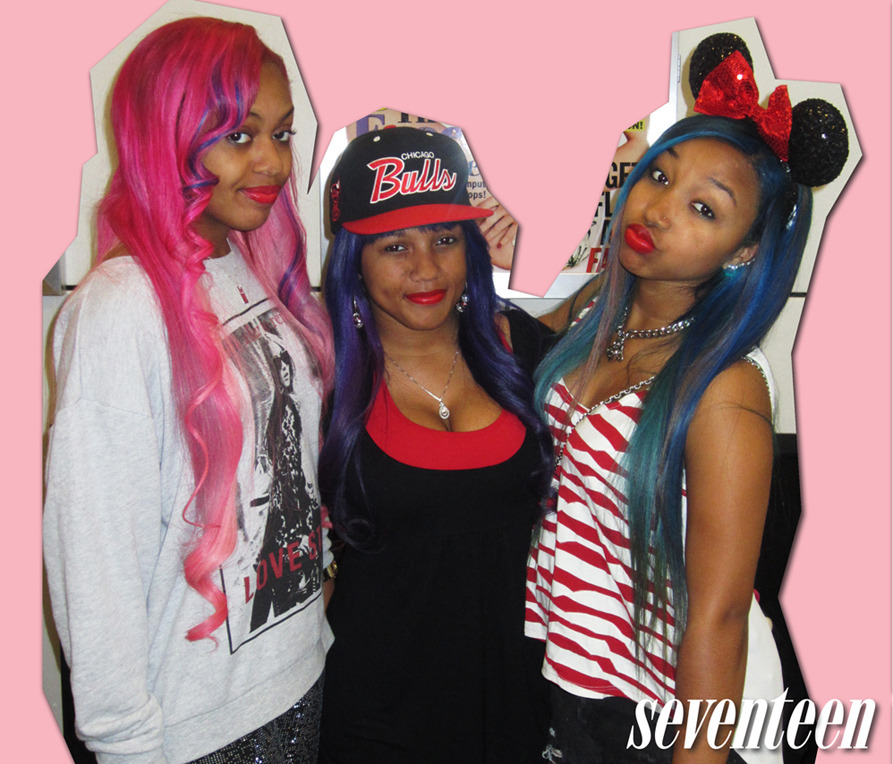 The OMG Girlz came by the office and definitely brightened up our day. We're loving Miss Star's Minnie ears!