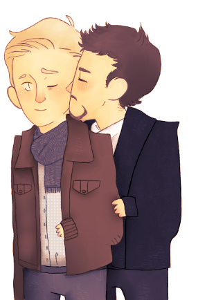 rogers-and-stark:  SteveTony by ~thorxpoptarts