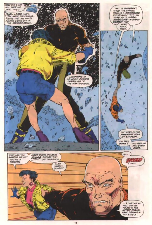 snikette:  Jubilee taking the professor skating.   Always reblog.