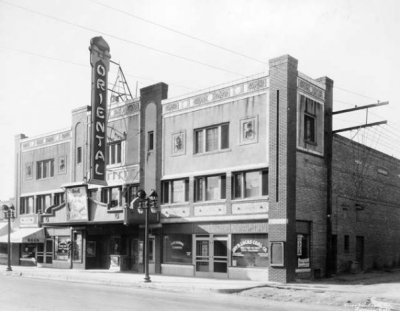Early, humble beginnings as a single screen movie theater…