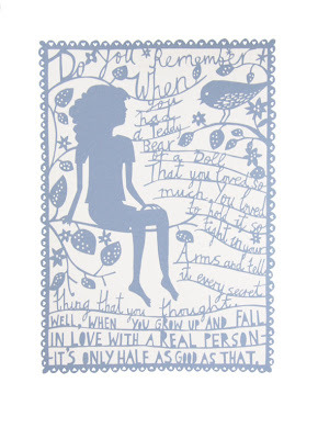 The Inspiration that is Rob Ryan … when I was younger I had a beautiful bear called Gerald he was everything, I lost him at age 9 and a half. But I have to disagree on one point; for me Mr Engaged&waiting beats Gerald hands down any day.