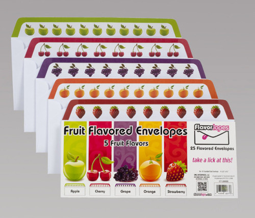 laughingsquid:  Flavorlopes, Lickable, Scented & Flavored Envelopes