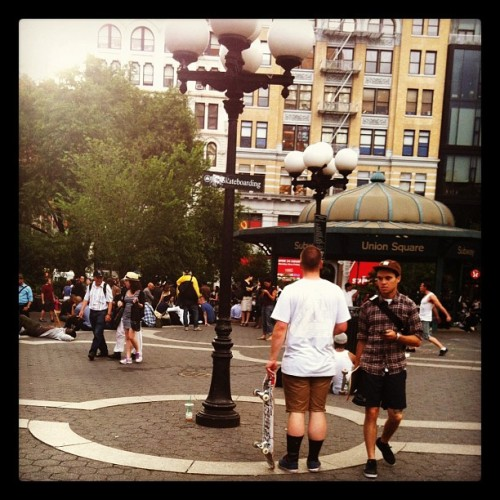 Union Square circus (Taken with Instagram)