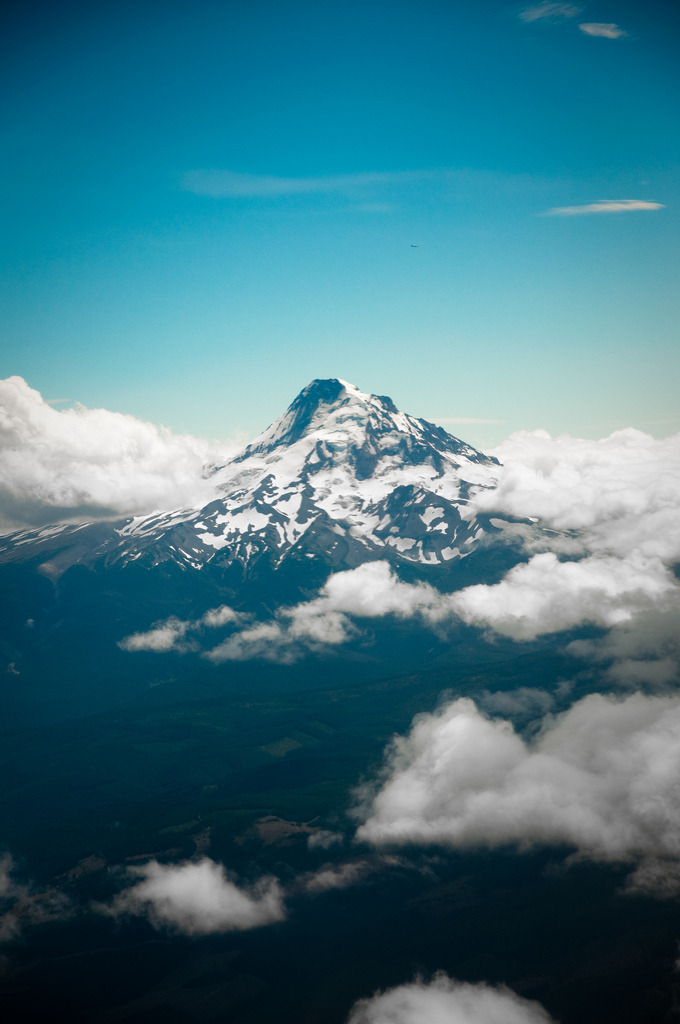 flentes:  Mt. Hood from a Dash-8, It's The Bone!
