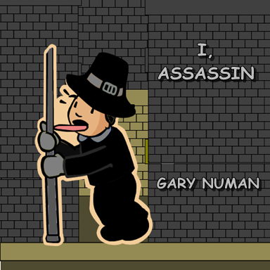 I, Assassin, by Gary Numan. Original. Submitted by shitfrankiesays.