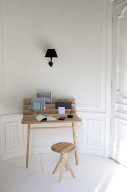 Our SECOND 'Piece of the Week' you lucky interiors peeps. A stunning desk by Margaux Keller - we LOVE this and can imagine doing our 'correspondence' on it… how proper! Source:http://mocoloco.com/fresh2/2012/06/06/le-scriban-desk-by-margaux-keller.php