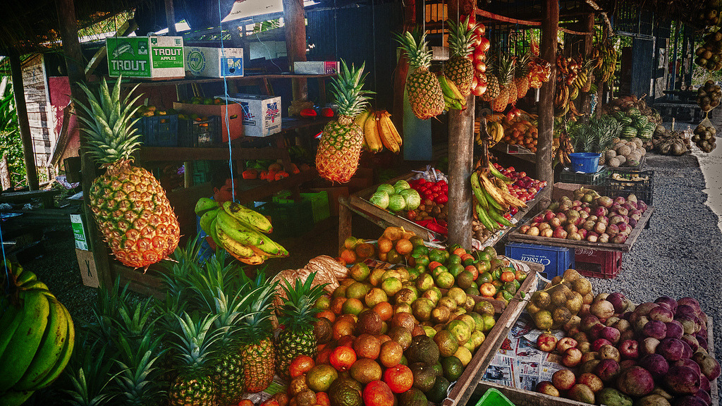 Fruit stand, Costa Rica