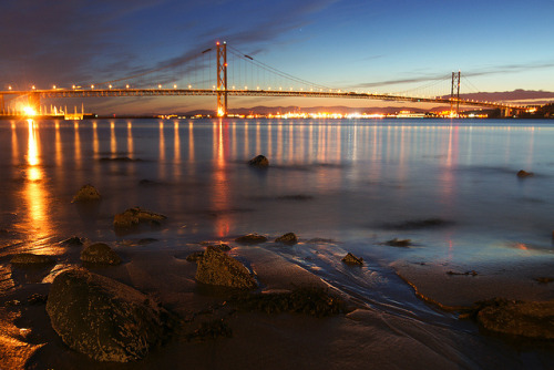 Queensferry shore by Spencer Bowman on Flickr.