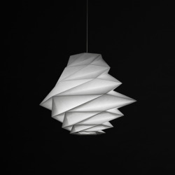 Check out this lighting by the famous fashion designer, Issey Miyake.  Seems Issey gets it right with everything… love it.  Do you? Source: http://www.dezeen.com/2012/06/06/in-ei-by-issey-miyake-for-artemide/