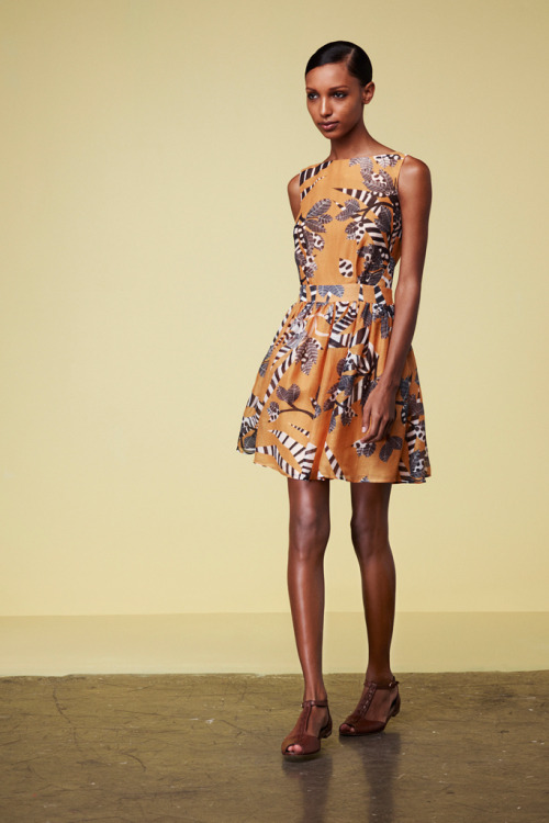 modelsofcolor:  Jasmine Tookes for Thakoon Addition Resort 2013
