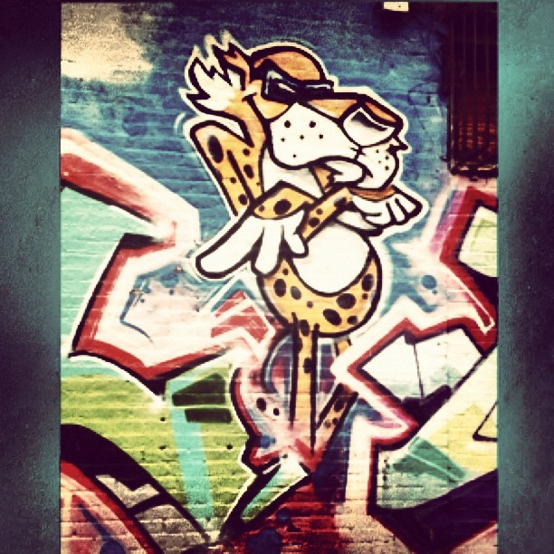 #Chillin #Marcy #Myrtle #Graffiti #Art (Taken with Instagram)