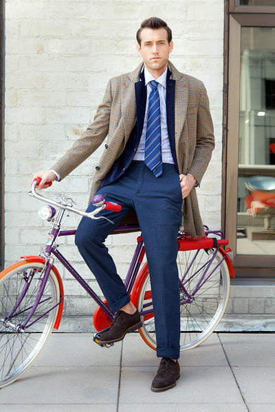 thetieguy:  bike chic!