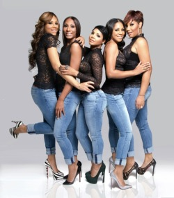 The Braxtons Tamar,Towanda, Toni, Trina and Traci
