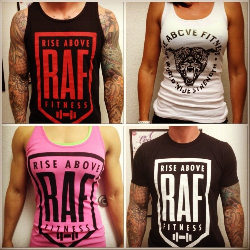 Want to win a Rise Above Fitness t-shirt? REBLOG the post in the link  to win: http://tinyurl.com/87zfwff
