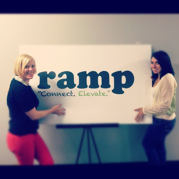 BOSS ladies #ramppdx #portland #pdx #dowork  (Taken with Instagram)