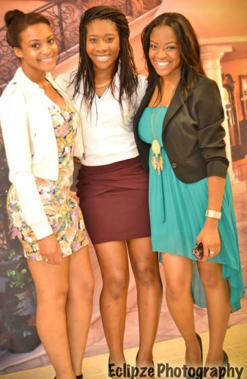 Ayan, Precious, and I. [: Will be partying the majority of the summer with these two girls for sure ^___^    #Preston's Graduation Party