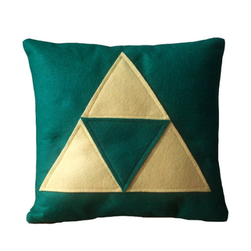 pwnlove:  #1 Pillows Pillows are just better when they are gaming related. It's the law. Well, at least in my world.  Pillows by Nerd Cuddle ($18)