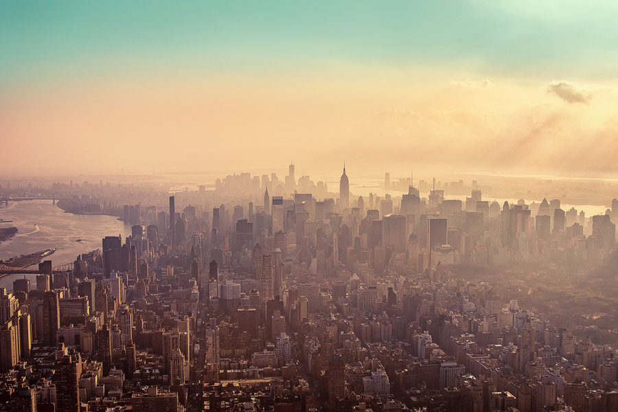 unknownskywalker:  New York City Haze by Matthias Haker