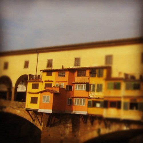 Florence bridge 2010, October  (Taken with Instagram)