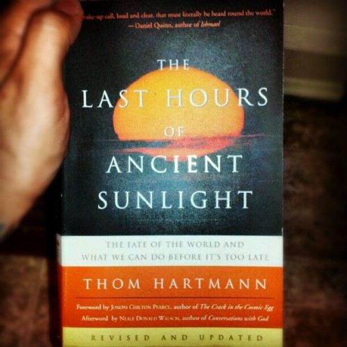 Wake Up! Great Book right here.. #books #earth #consciousness #awareness (Taken with Instagram)