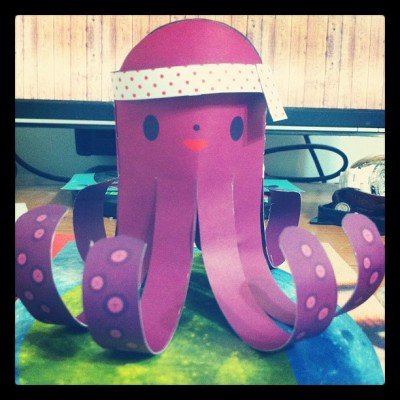#paperwonderland 🐙 (Taken with Instagram)