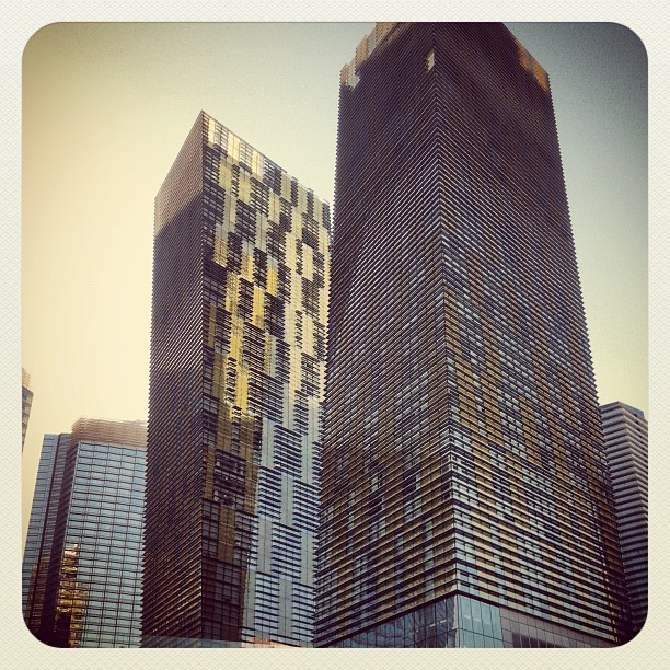 #vegas #aria #hotel #architecture #modern #beautiful (Taken with Instagram)