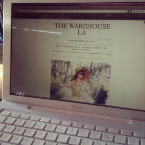 thewarehousela:  Hey people! We have a new blog - www.thewarehousela.tumblr.com (Taken with Instagram)