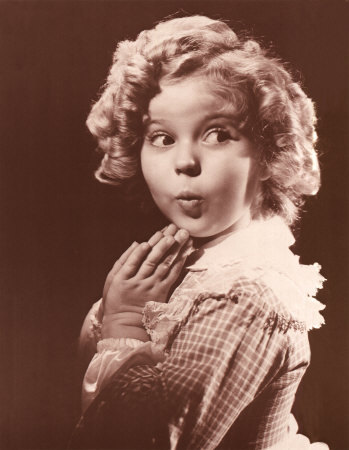 Shirley Temple.     so cute