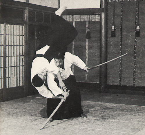 completeculture:  Morihiro Saito.  Hell yeah aikido! (not that I'm anywhere near this awesome yet.)