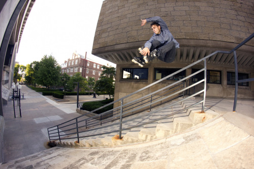 Greg Schlosser- Fakie 3 over rail into bank Taken by me.