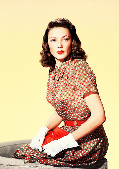 6/50 photos of Gene Tierney