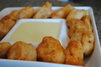Beer Battered Sweet Potatoes     (click image for recipe)
