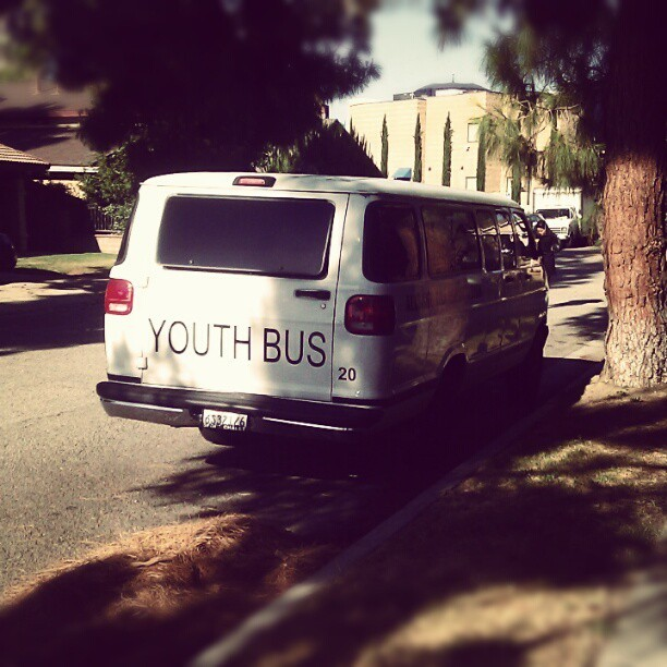 You say youth bus, I say #rape #van (Taken with Instagram)