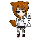 Pixel sprite for PanDa RoLL of TinierMe. I took a few liberties with the coloring. Reference: Click!