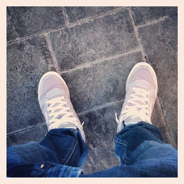 #me #vegas #road #street #adidas #shoes (Taken with Instagram)