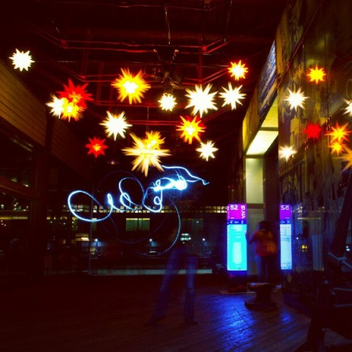 Reach for the stars! By Matthew Lee #vividsydney  (Taken with Instagram)
