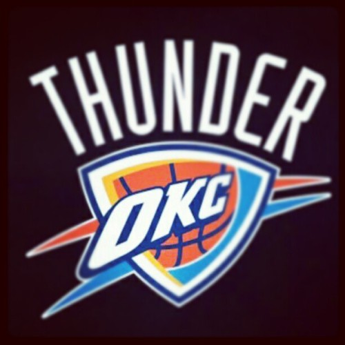 It's bout OKC we just waiting for the heat  (Taken with Instagram)