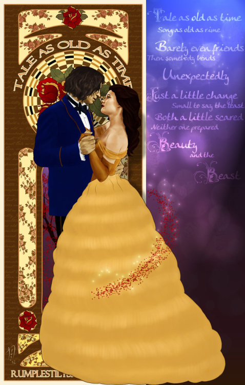 ouat-rp:  Tale as Old as Time by *Nero749