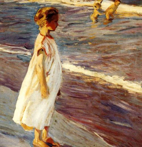 Joaquin Sorolla y Bastida, Menina I miss tumblr, and posting, and my art.  Life has officially happened…
