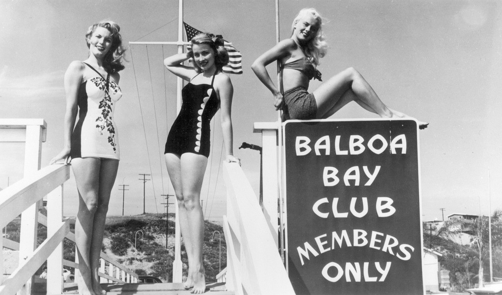 Balboa Bay Club, Newport Beach, date unknown.