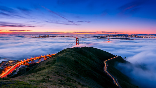 llbwwb:  Golden Gate Bridge,Happy 75th Birthday by Joe Azure