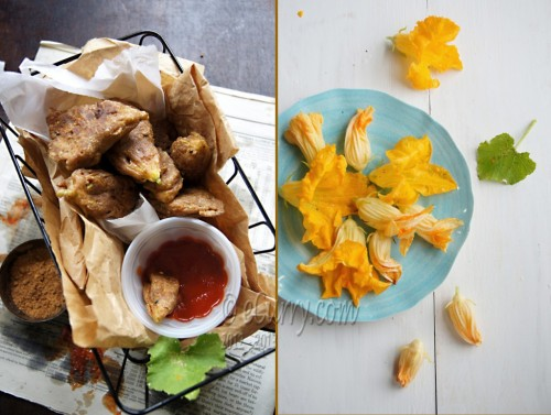 (via Chickpea and Poppy Seed Batter Fried Squash Blossom)