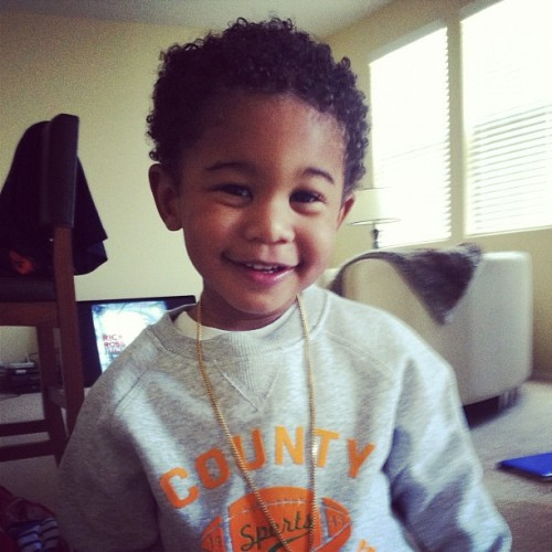 impulsivebehaviour:  loveshyambitions: Lil' Fizz & whoever his son's mom is, made a beautiful boy.