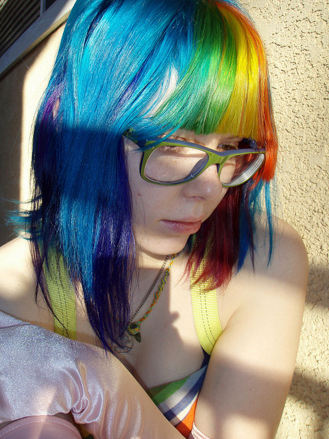Rainbow Pirate Princess by Megan is me… on Flickr.