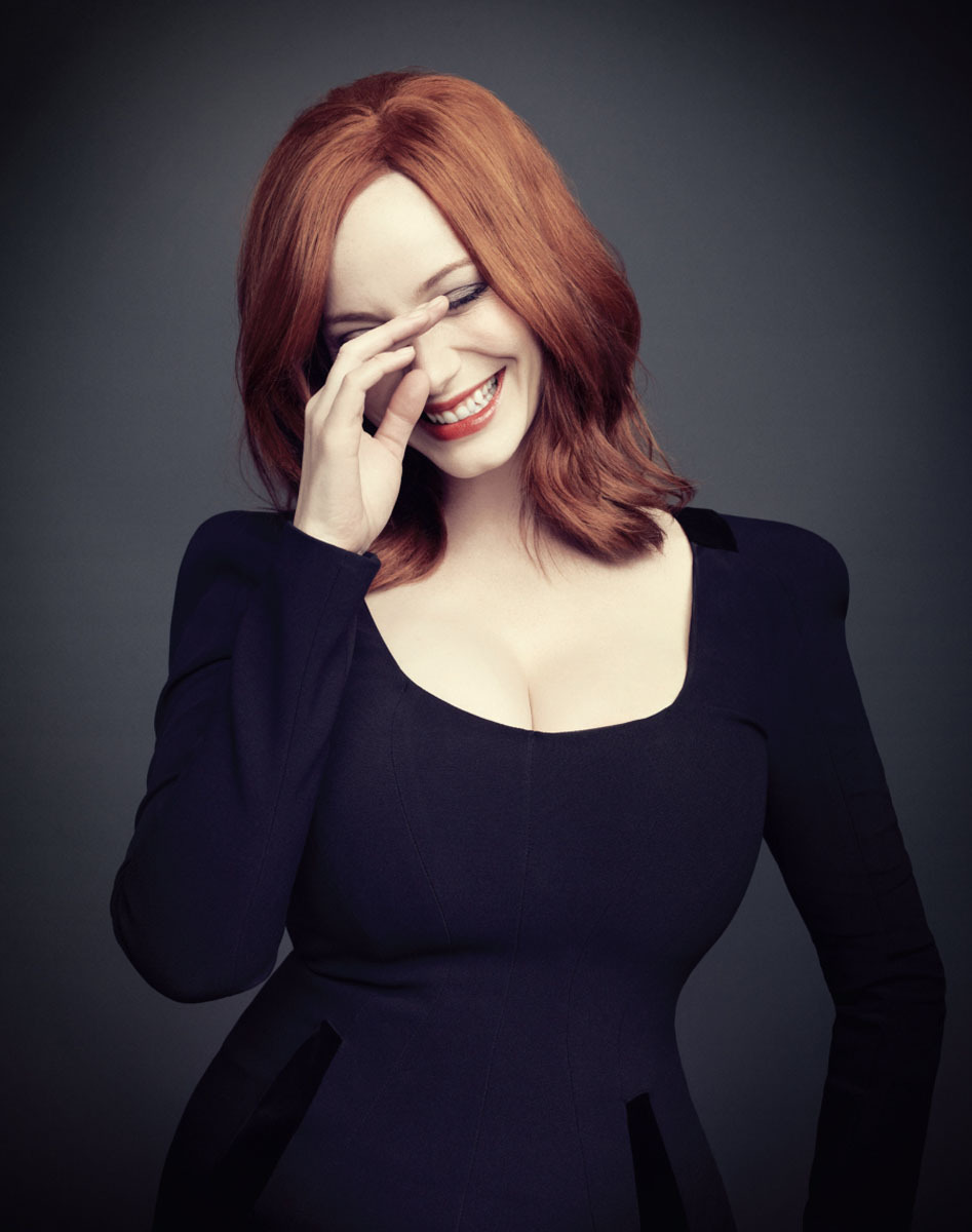 bohemea:  Christina Hendricks - The Hollywood Reporter by Joe Pugliese, 2012